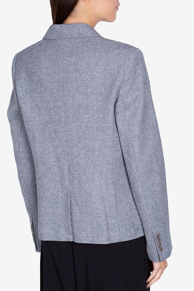 Pinstriped wool blazer Acob a Porter image 2
