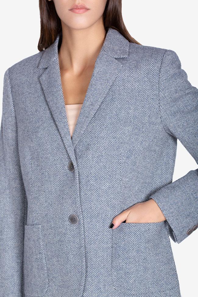 Pinstriped wool blazer Acob a Porter image 3