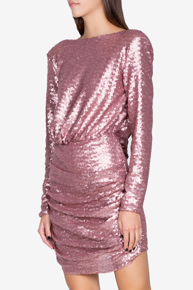 Max open-back sequined tulle dress Hard Coeur image 0