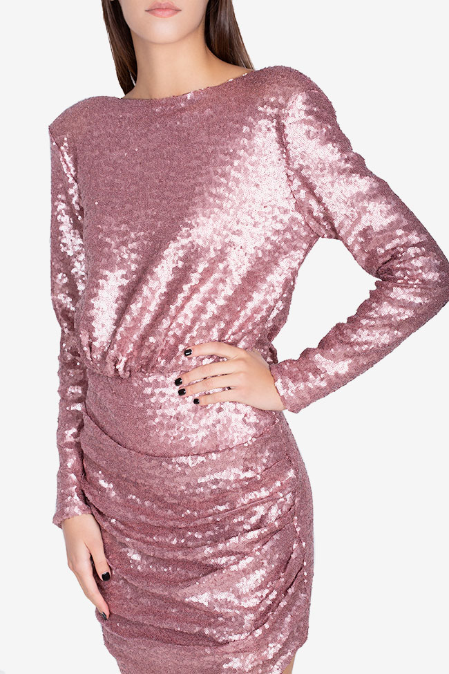 Max open-back sequined tulle dress Hard Coeur image 3