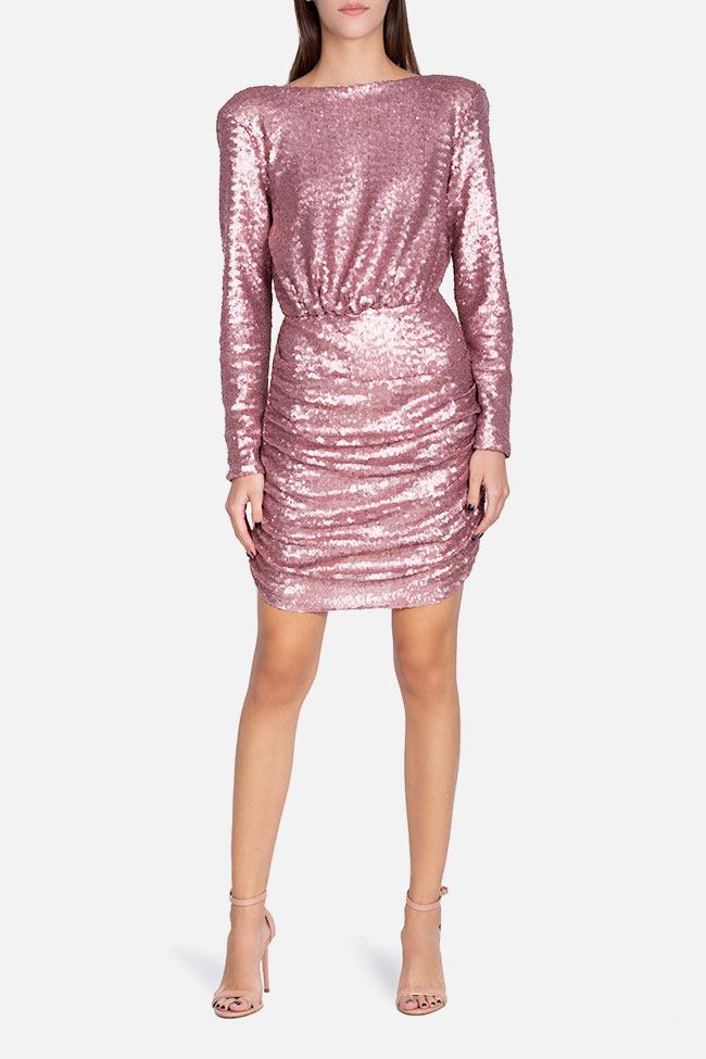 Max open-back sequined tulle dress Hard Coeur image 1