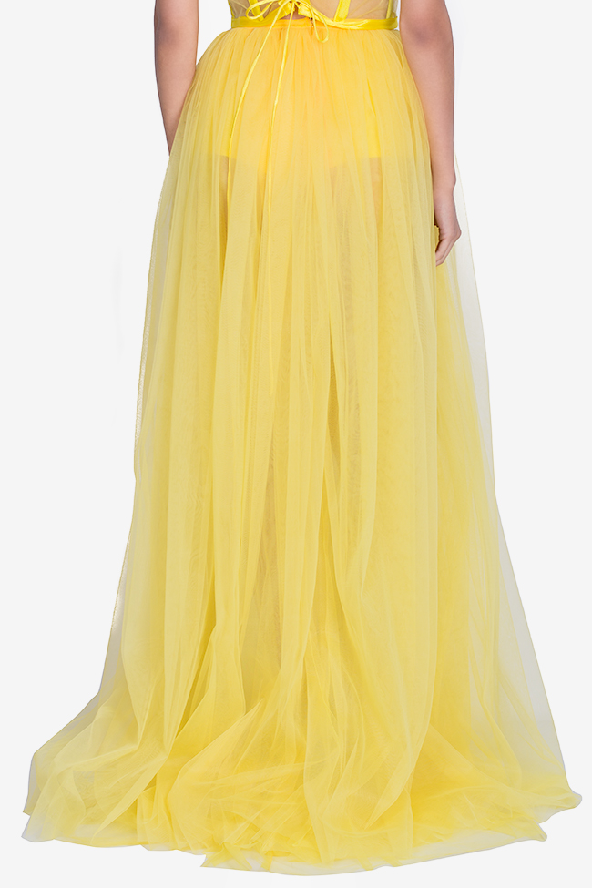 Tulle maxi skirt Arllabel Golden Brand image 2