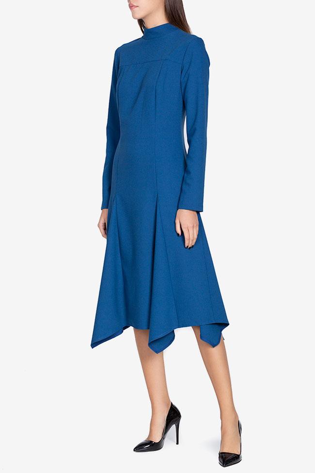 Robe asymétrique en crêpe de coton Bluzat image 0