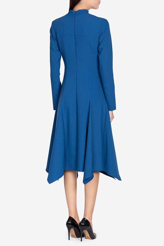 Robe asymétrique en crêpe de coton Bluzat image 2