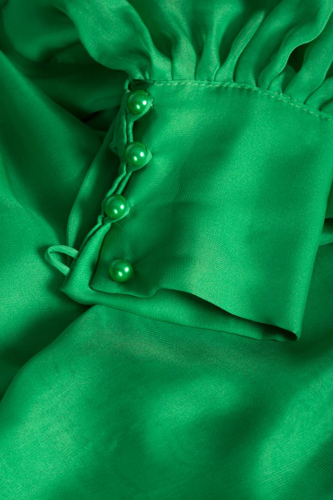 Anka silk-blend top Arllabel Golden Brand image 4