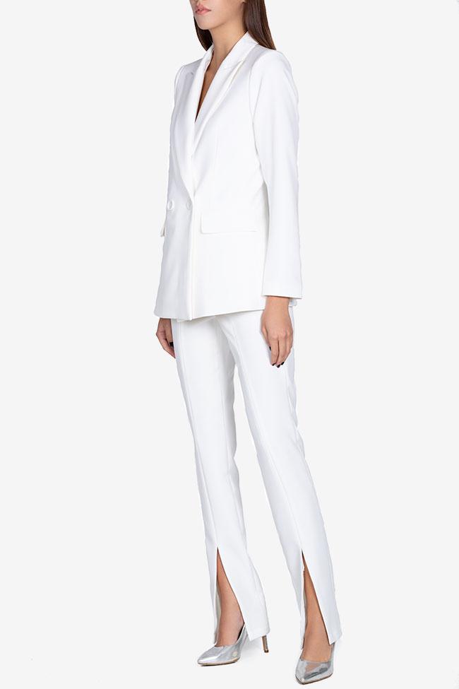 Pantaloni din amestec de matase  Arllabel Golden Brand imagine 1