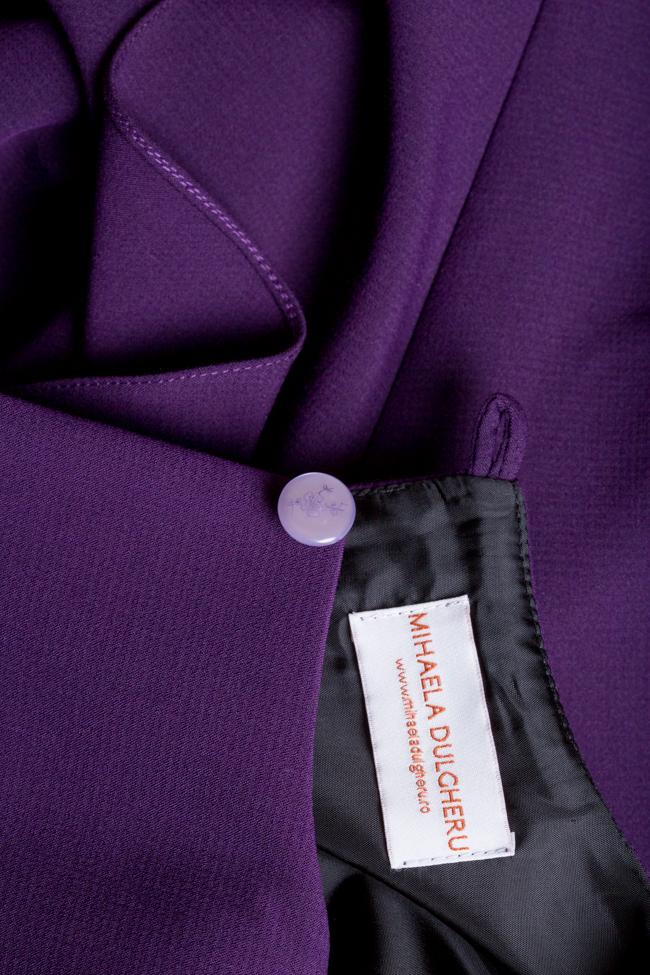 Robe asymétrique en mélange de coton Susur DALB by Mihaela Dulgheru image 4