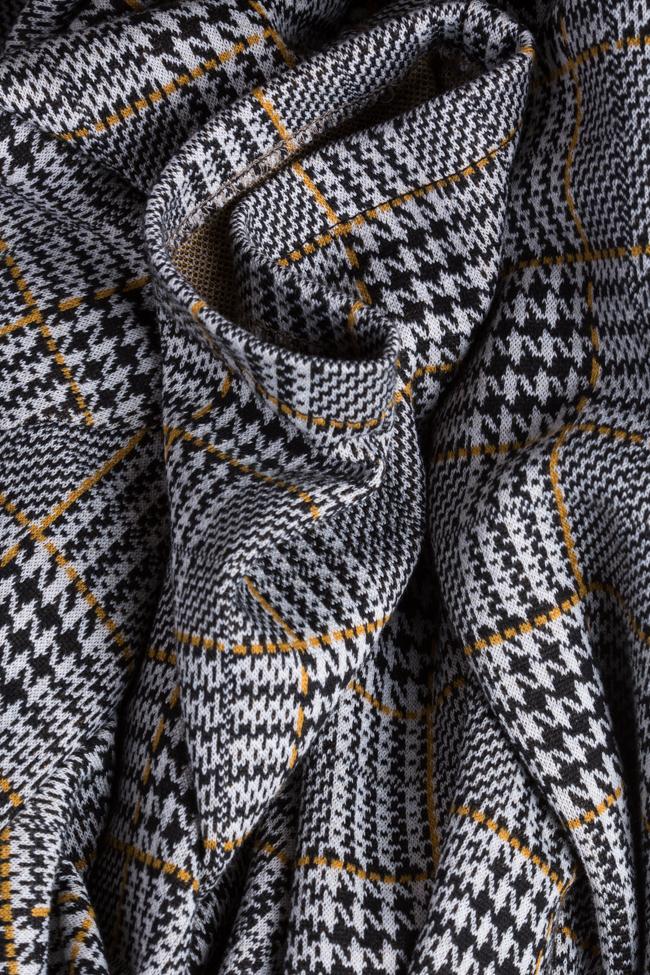 Robe mini en mélange de coton à carreaux Margaret Couture de Marie image 4