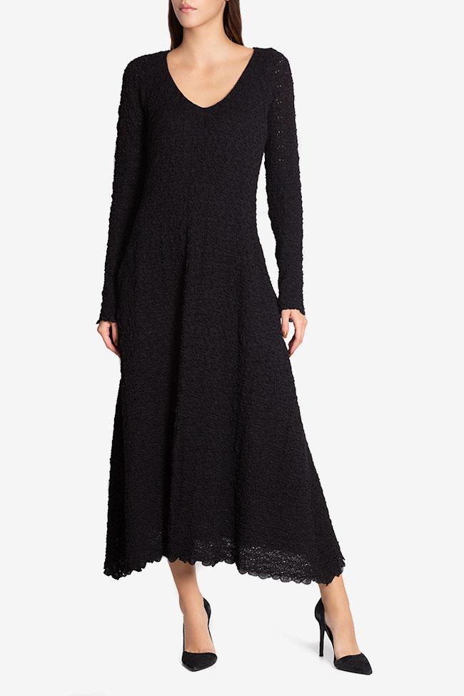 Wool maxi dress Izabela Mandoiu image 1