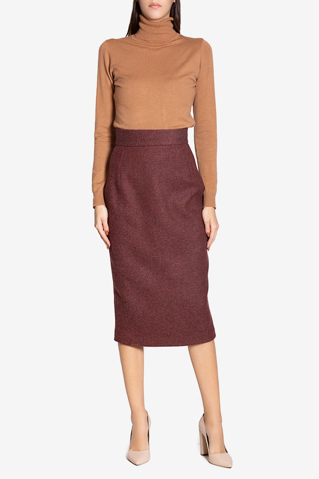 Wool pencil skirt Cloche image 1