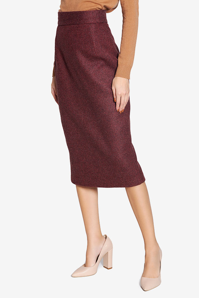 Wool pencil skirt Cloche image 0