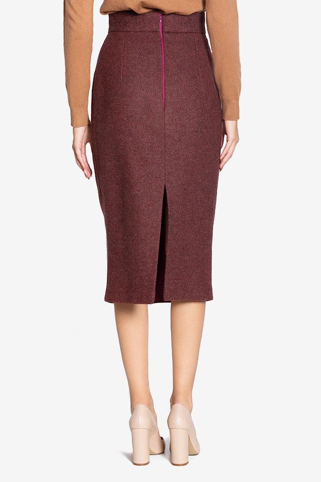 Wool pencil skirt Cloche image 2
