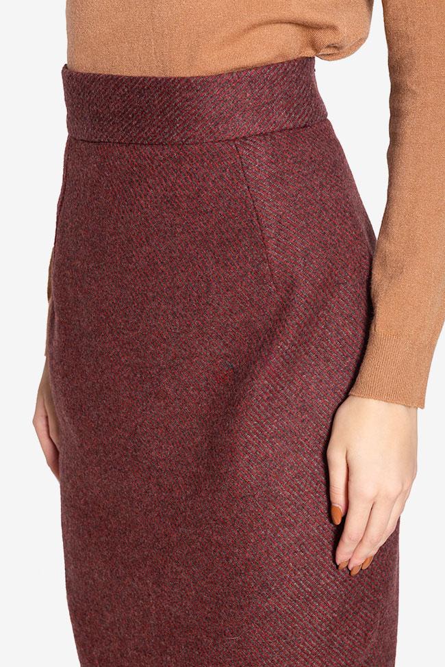 Wool pencil skirt Cloche image 3