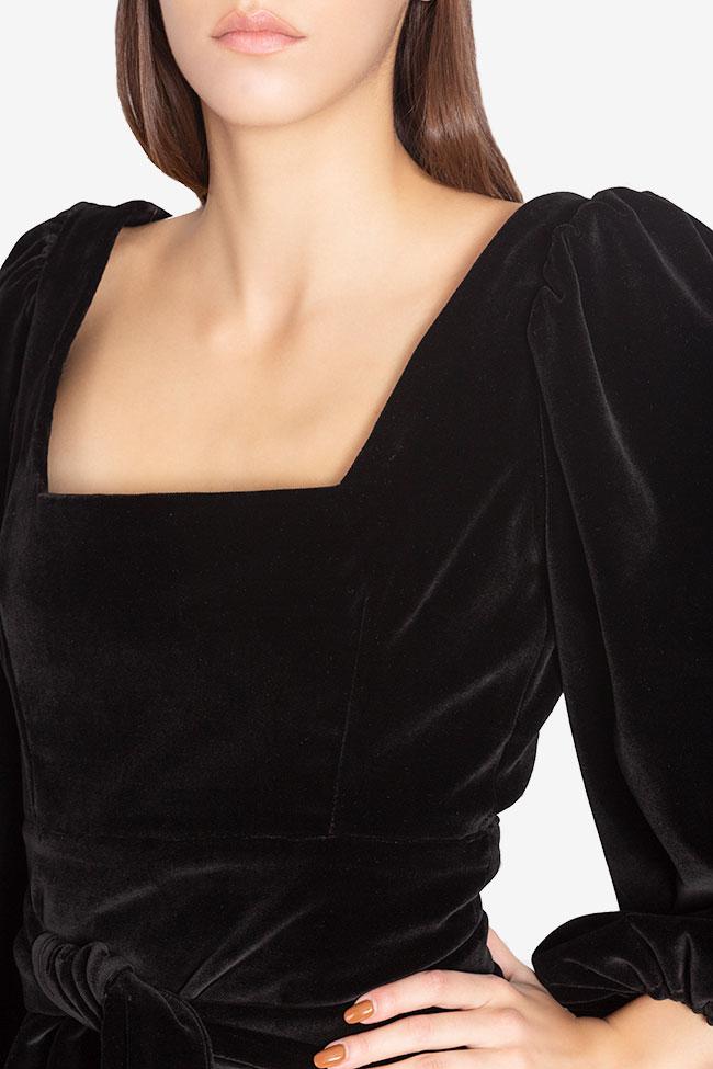 Cotton velvet top Cloche image 3
