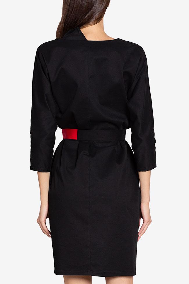Robe portefeuille en coton avec cordon amovible Tilly Couture de Marie image 2