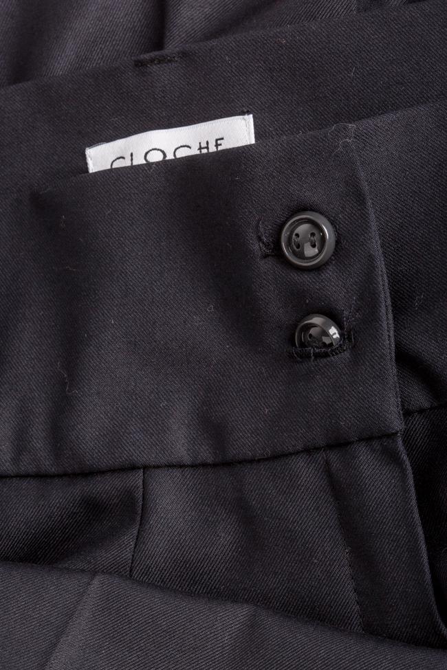 Cotton-blend wide-leg pants Cloche image 4