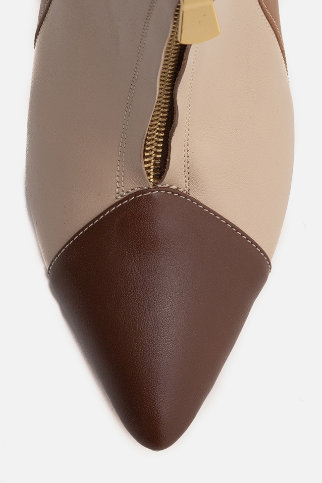 Valentina90 leather boots Ginissima image 3