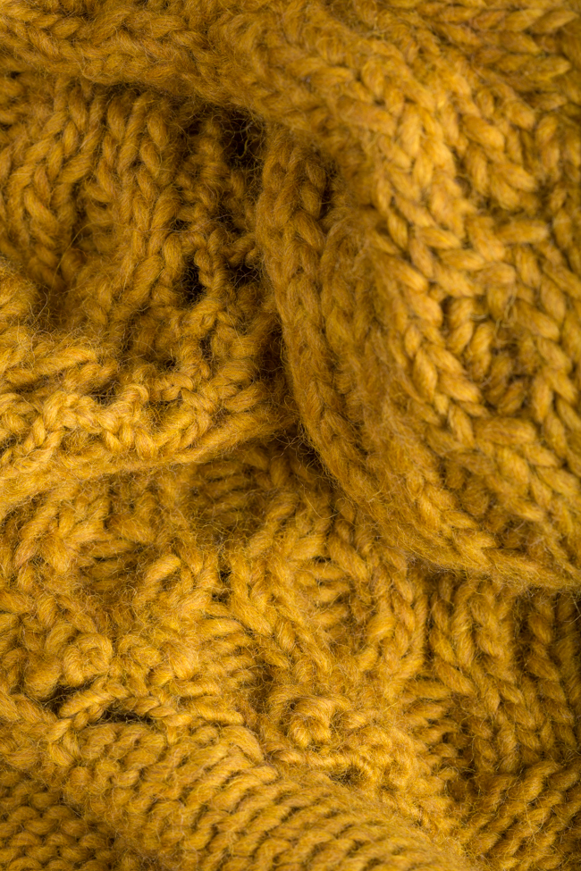 Cable-knit wool sweater NARRO image 4