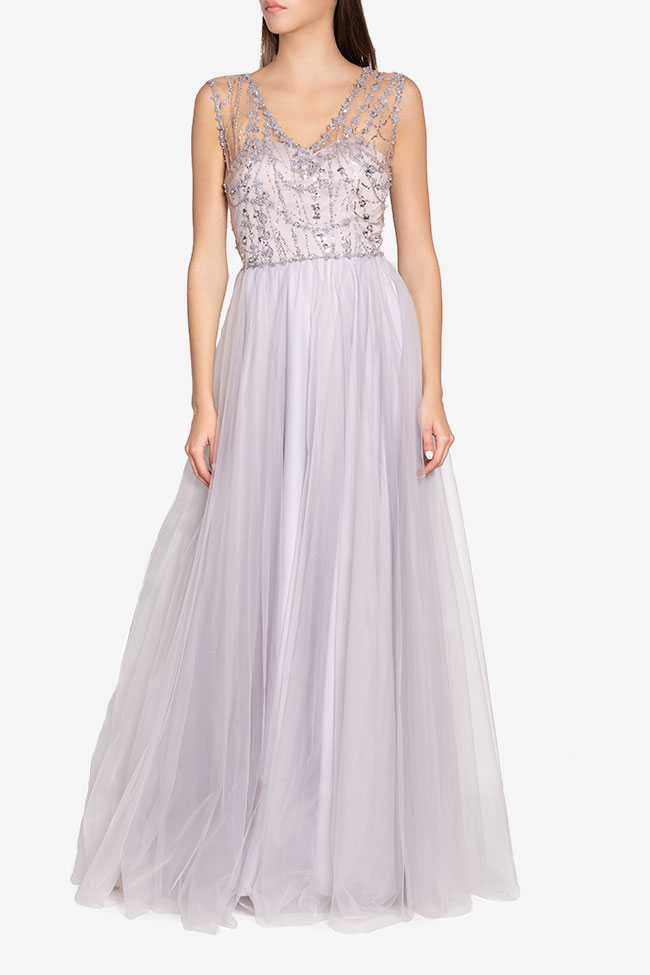 Embellished tulle gown Atelier Maria Iftimoaie image 0