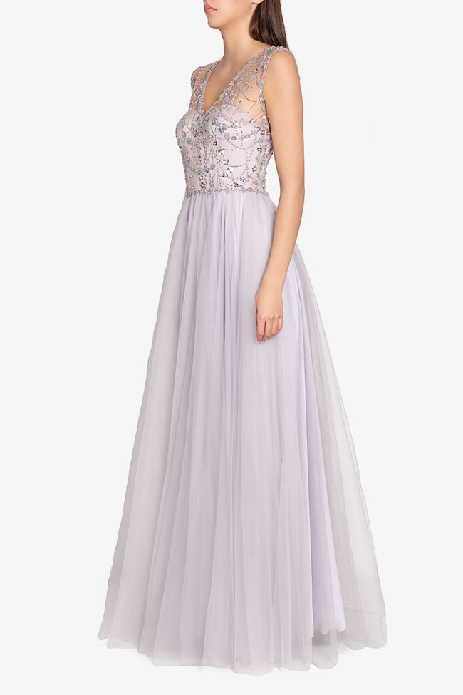 Embellished tulle gown Atelier Maria Iftimoaie image 1