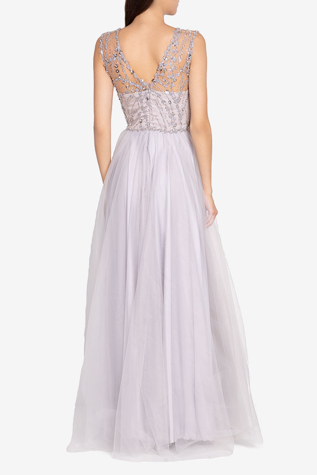 Embellished tulle gown Atelier Maria Iftimoaie image 2
