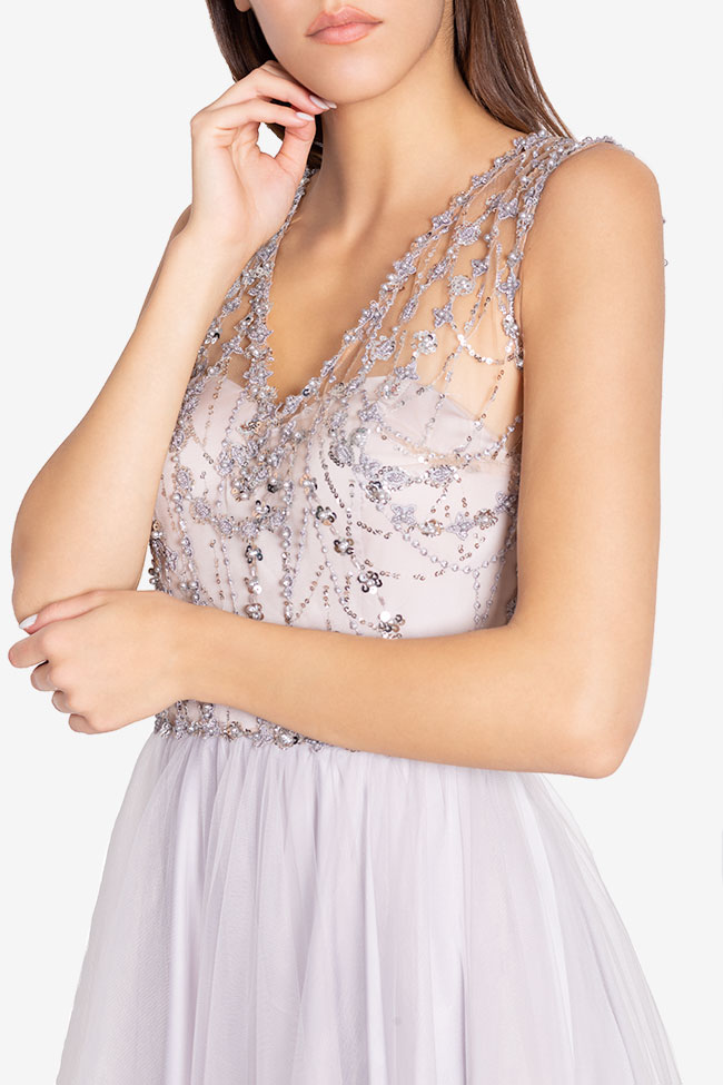 Embellished tulle gown Atelier Maria Iftimoaie image 3