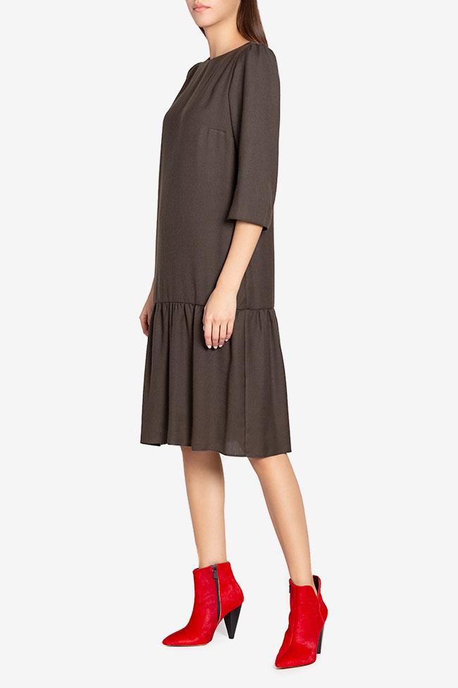 Rochie din amestec de lana Tashia Couture de Marie imagine 0