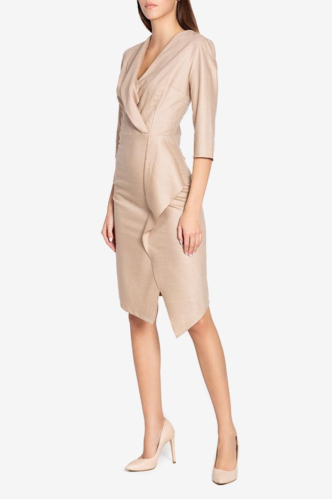 Lexie wool-blend midi dress Couture de Marie image 0