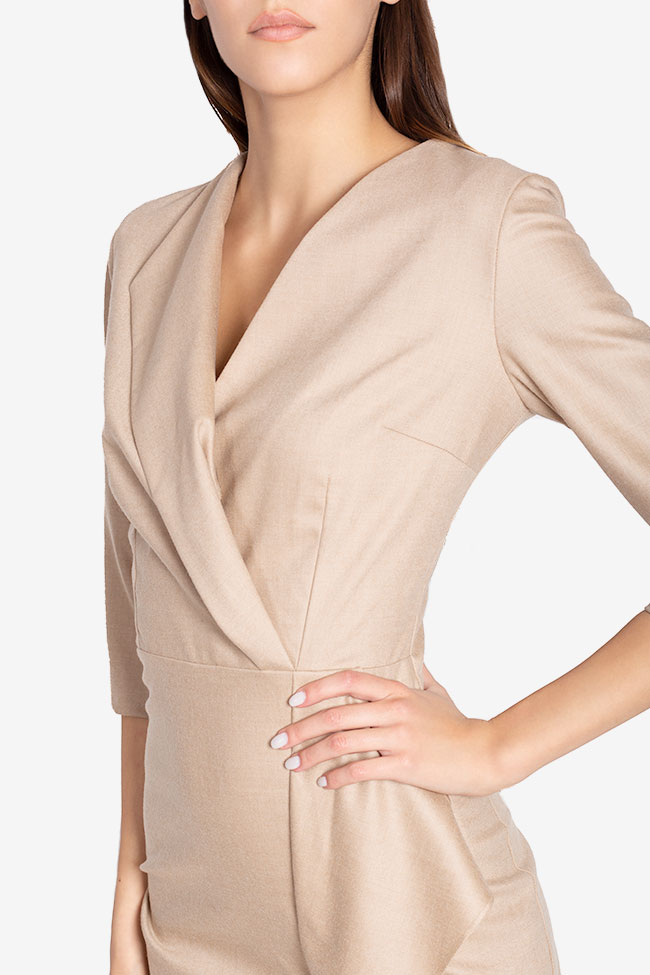 Lexie wool-blend midi dress Couture de Marie image 3