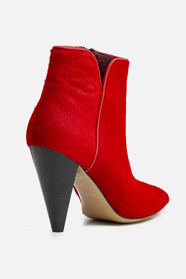 Sara90 calf hair ankle boots Ginissima image 1