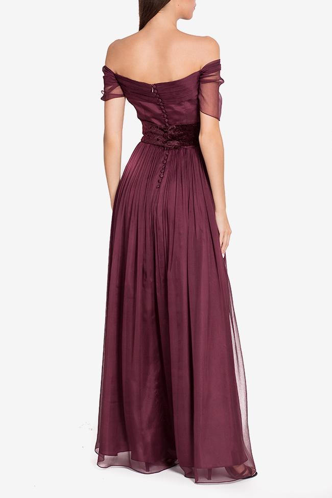 Wesley belted silk gown Mirela Pellegrini image 2