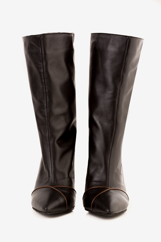 Lady leather boots Hannami image 2
