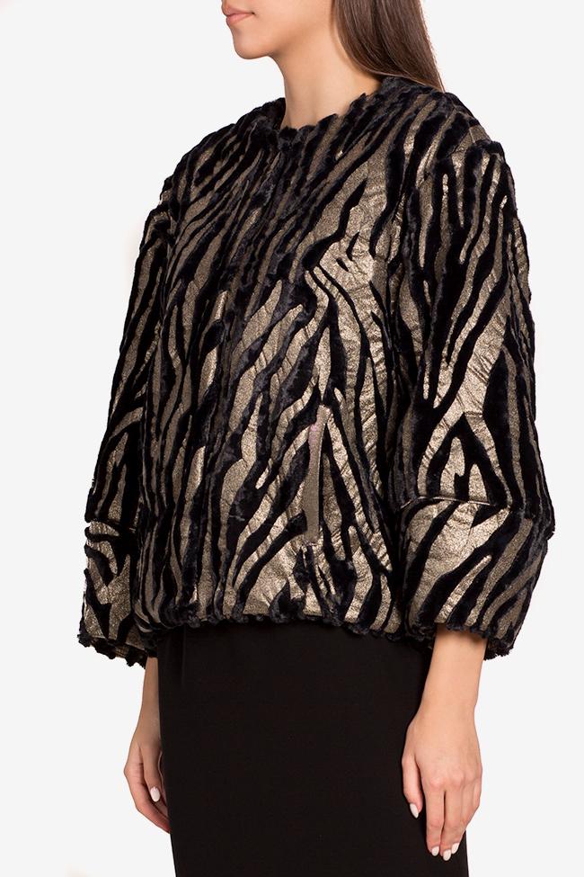 Jacheta din blana artificiala Lane Mirela Pellegrini imagine 0