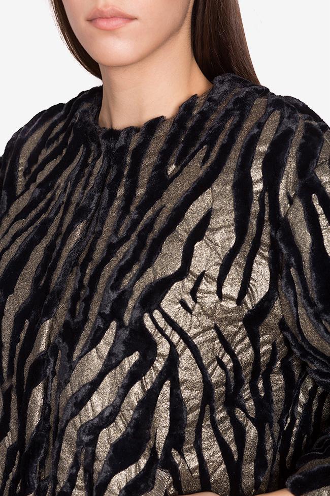 Jacheta din blana artificiala Lane Mirela Pellegrini imagine 3