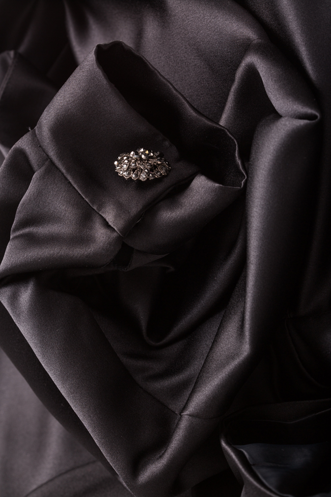 Janette taffeta cropped jacket Mirela Pellegrini image 4