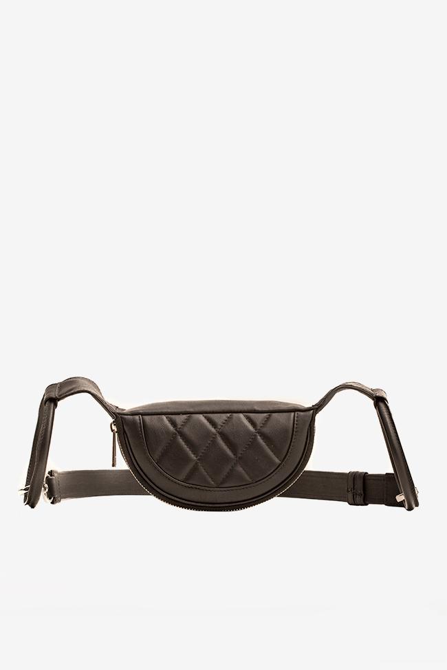 Quilted leather belt bag Laura Olaru image 1
