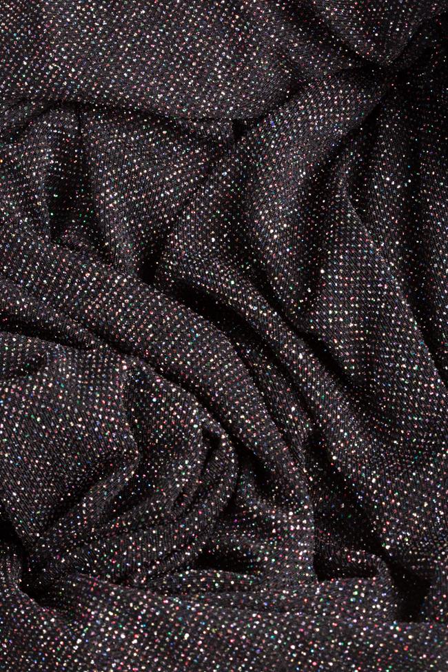 Metallic crepe cardigan NARRO image 4