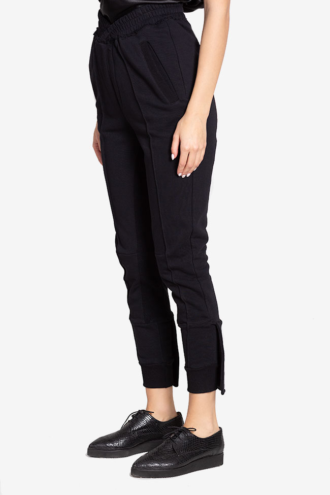 Cotton-jersey track pants NARRO image 0