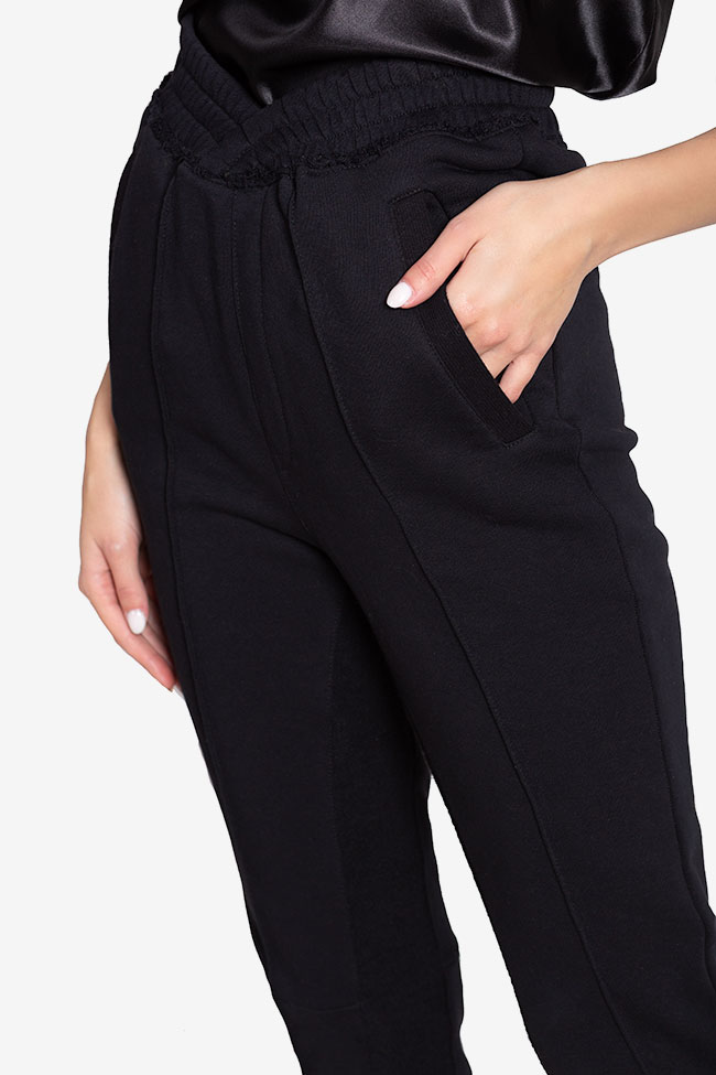 Cotton-jersey track pants NARRO image 3