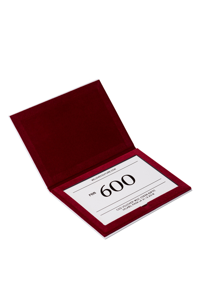 Voucher cadou 600 WE LOVE COUTURE GIFTS imagine 2