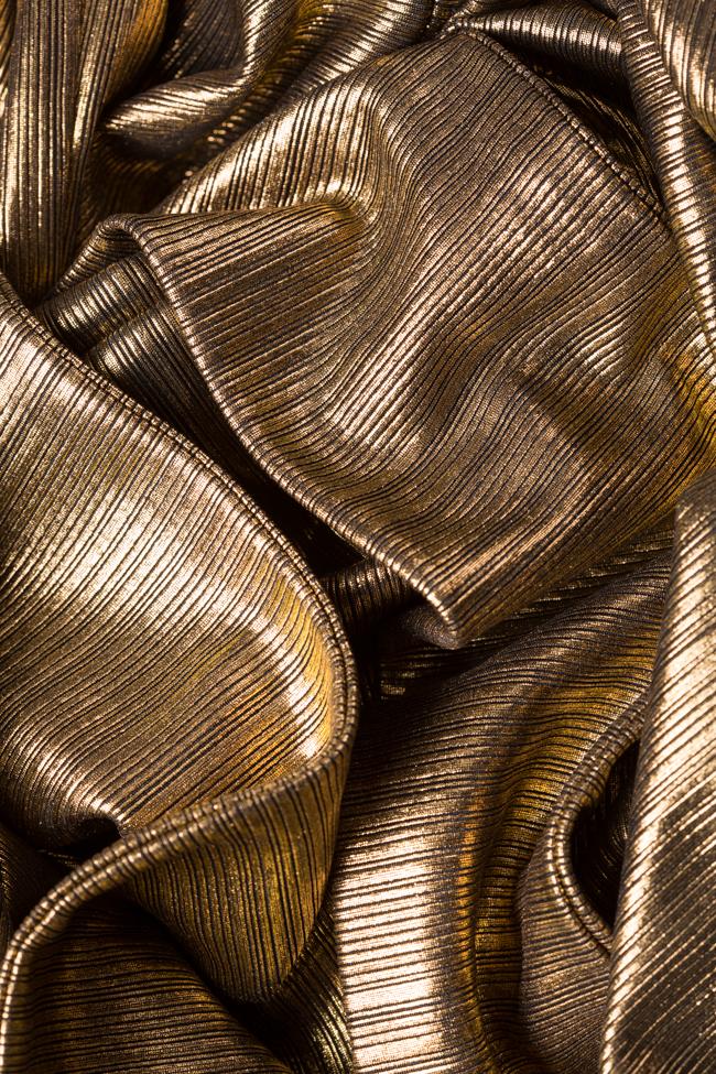 Robe en lamé avec fronces Golden Arllabel Golden Brand image 4