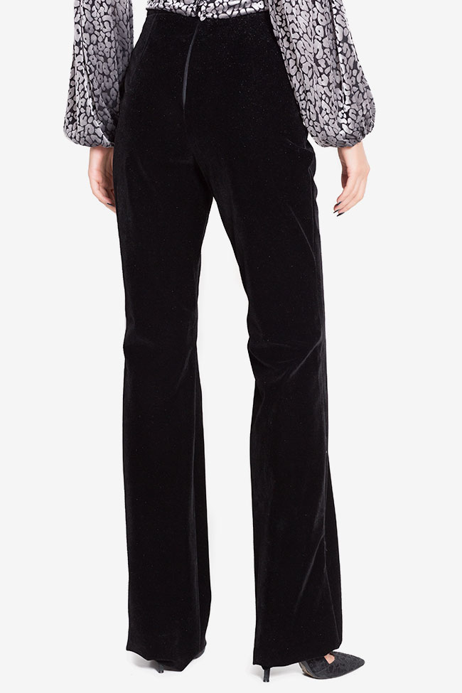 Cotton-blend velvet trousers LOOMY image 2