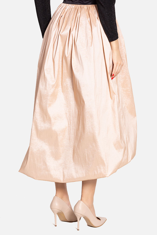 Taffeta midi skirt and glittered tulle top  Ramona Belciu image 2