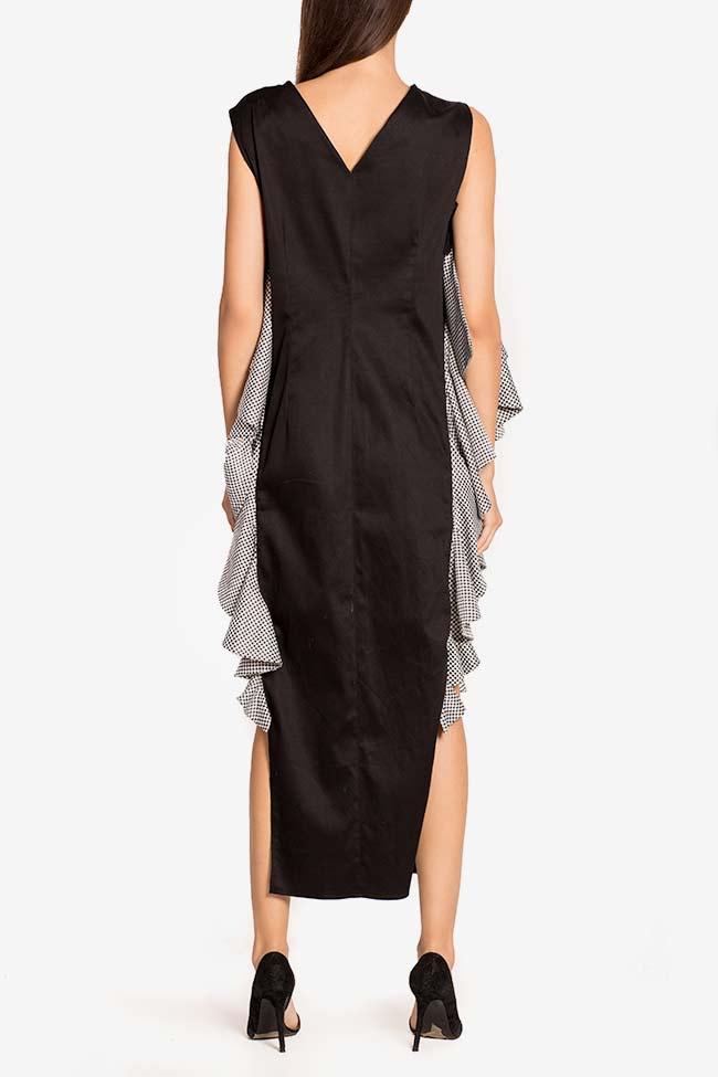 Robe asymétrique en popeline de coton avec imprimé LOOMY image 2