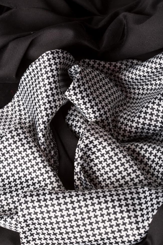 Robe asymétrique en popeline de coton avec imprimé LOOMY image 4