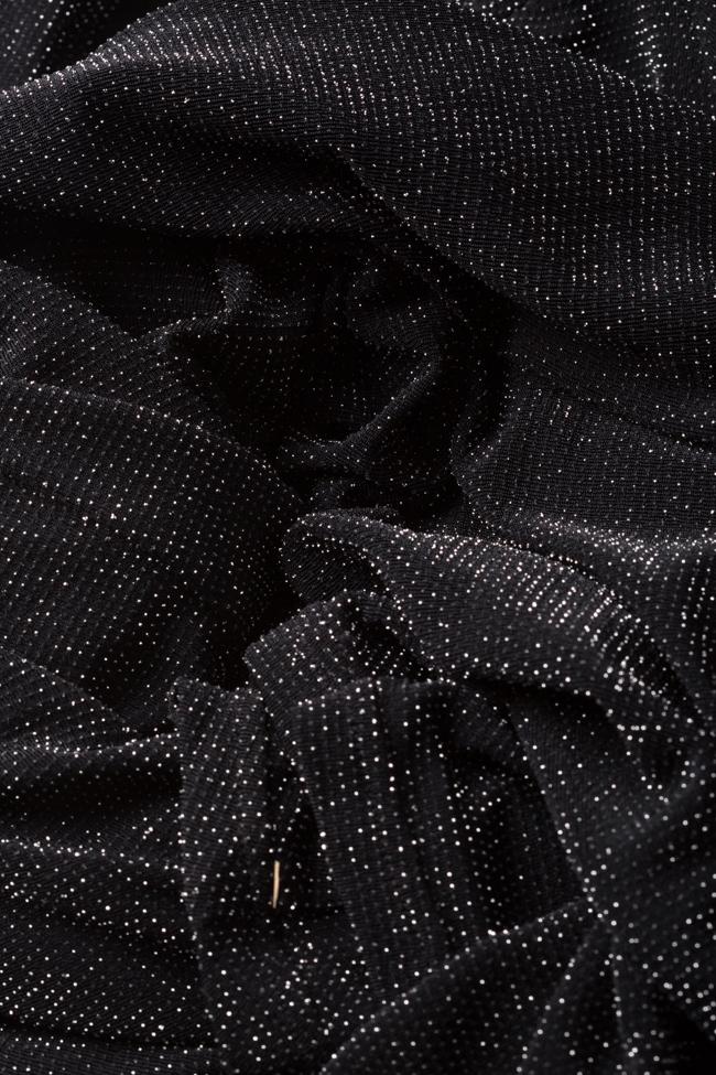 Robe en lamé avec découpe InfinityF image 4