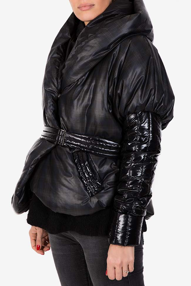 Hooded quilted shell jacket Edita Lupea image 0