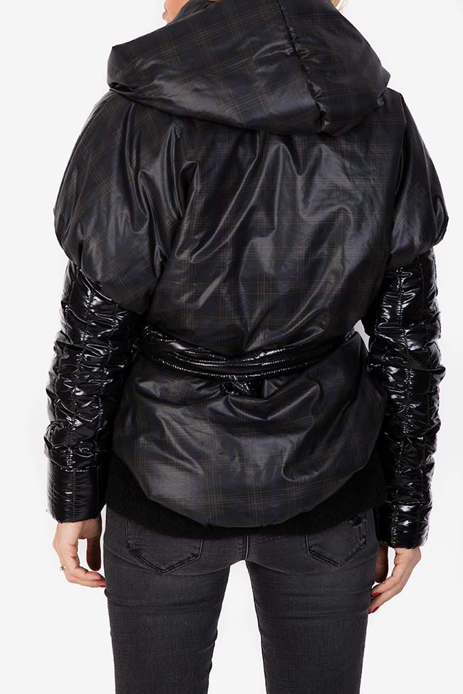 Hooded quilted shell jacket Edita Lupea image 2