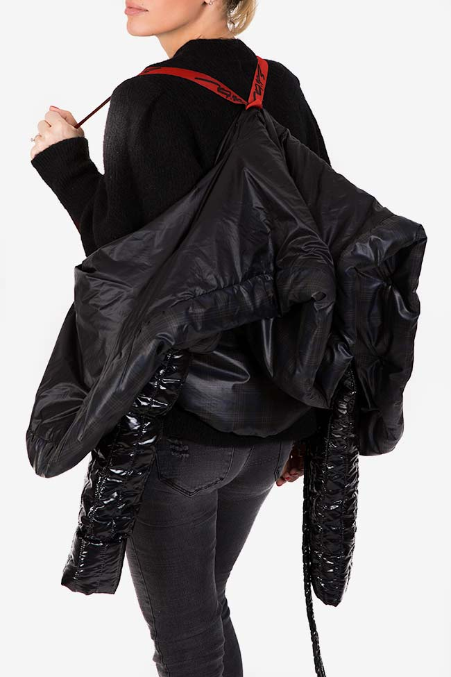 Hooded quilted shell jacket Edita Lupea image 3