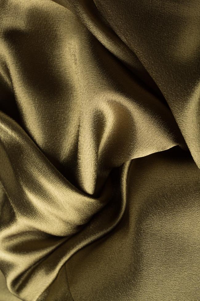 Robe en satin à dos nu Alfabeta image 4